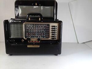 Vintage Zenith Trans-Oceanic Wave Magnet World Band Radio Model Y600