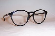 NEW CHRISTIAN DIOR EYEGLASSES CD MONTAIGNE 53 807 BLACK 50mm RX AUTHENTIC