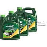3x 4 Liter Original FANFARO MAX 5 80W-90 GL-5 LS API GL 5 LS Getriebeöl Gear Oil