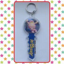 🆕 Mr Blobby Retro Style Key Shaped Keyring! Noel's House Party Noel Edmonds BBC