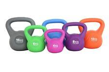 TrainHard® Kettlebell Kugelhantel Kugelgewicht Hantel Gewicht 4 kg bis 16 kg