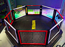 17'x17' Commercial Boxing Ring MMA Cage UFC Octagon Pro Wrestling Mat 289 sq ft