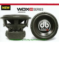 New DB Drive WDX 15G5-2 subwoofer 15""