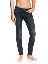 Roxy Suntrippers Skinny Fit Jeans Stretch 28 29x29 Denim ERJDP03035 Surf EUC $65