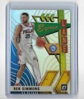 2019-20 Donruss optic basketball holo parallel express lane Ben Simmons