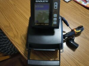 NEW in opened box Eagle Fish ID 128 Portable Fish/Depth Finder/Tested/Works Good