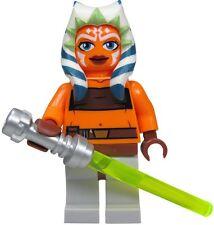 mini figurine minifig lego star wars Ahsoka Tano jedi padawan anakin sabre laser