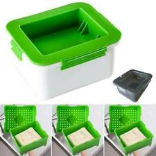 Tofu Press Drain Box Water Moisture Remove Automatically Draining Easy To Use