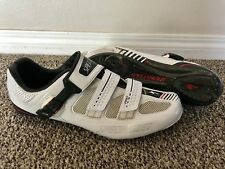 Specialized Pro Road Cycling Shoes - 46 - White - Carbon