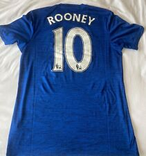 2016/2017 MANCHESTER UNITED #10 ROONEY ADIDAS AWAY BLUE JERSEY M SIZE