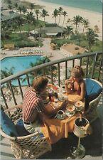 Marco Island FL Marriott's Promo Card Balcony c1979 Vintage Postcard - Unused
