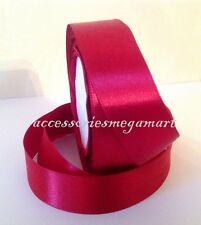 22 Meter of Satin Ribbon 1 inch 25mm wide most demanding basic solid 25 colours
