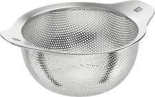 Zwilling Table tamiz 24cm colador nudelsieb salatsieb colador de cocina de acero inoxidable 3-in-1