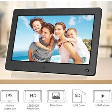 10 Inch Digital Photo Frame Full IPS Display Photo/Music/Video/Calenda W/ 8GB US
