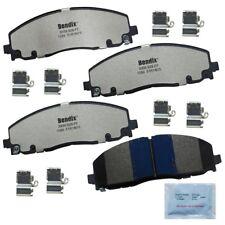 Fleet Metlok Semi-Metallic SDR fits 2012-2014 Volkswagen Routan  BENDIX FLEET ME