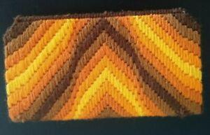 Vintage Handmade Crochet Sunglass Case