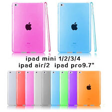 1×Soft Transparent TPU Silicone Case Cover for ipad mini1/2/3/4 air/2 Pro Tablet