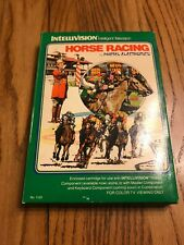 Rare Vintage Horse Racing by Mattel Electronic Intellivision Ships N 24h
