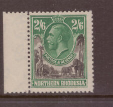 Northern Rhodesia 1925 King George V MNH  2/6 shilling  SG 12 MINT NEVER HINGED