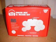 Sabian Sound Kit Drum Mic and Mixer Kit New Open Box