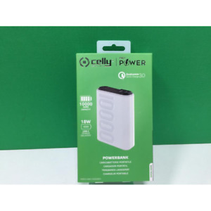 CELLY POWER BANK POWER DELIVERY 10000 [PRO POWER] - NUOVO