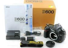 [MINT+] Nikon D600 Digital SLR Camera Black w/Box 53598 Shutter Count from Japan