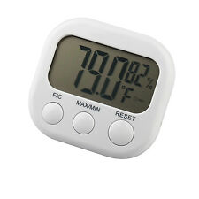 Digital LCD Weather Thermometer Temperature Hygrometer - By TRIXES