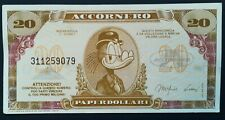 20 PAPERDOLLARI - Accornero - Rockerduck - Disney