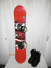 "HEAD "" CROWN "" TOP JUNIOR SNOWBOARD 135 CM + HEAD BOOTS GR. 39 IM SET"