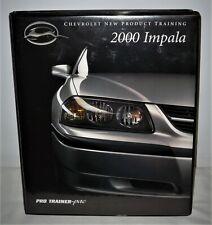 2000 Chevrolet Impala Dealer New Product Training Package VHS Tape - ORIG DEALER
