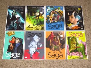 SAGA (2012) Lot Of 35 Consecutive Comics (# 20-54) Vaughn/Staples IMAGE NM- AVG.