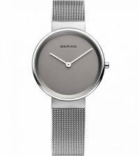 NEW Bering Damenuhr 14531-077 Grau Uhr Armbanduhr