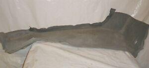 1982 Delorean DMC 12 OEM Left Side Sill Carpet - Grey