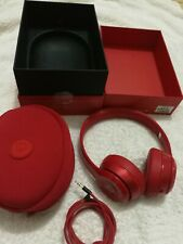Beats by Dr. Dre Solo2 Wired Headband Headphones - Gloss Red