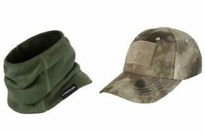 Condor Thermo Neck Gaiter and Condor Tactical Cap bundled by Maven Gifts