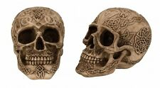 Totenkopf Schädel Totenköpfe Gothic Skull Dekoration Larp 11,5 cm Mystik Deko