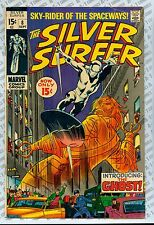 Silver Surfer #8 (1969) F- (5.5) ~ Stan Lee ~ John Buscema ~ Marvel Comics