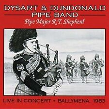 Live In Concert-Ballymena '83 - Dysart & Dundonald Pipe Band (2008, CD NEUF)