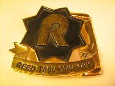 Belt Buckle REED TOOL COMPANY [Y69B3b]