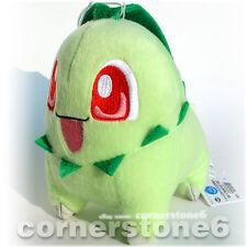 "~ Japan Banpresto 2010 - POKEMON - UFO soft plush Doll - 6"" CHIKORITA *"