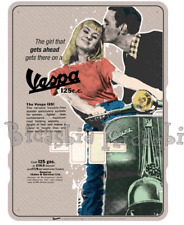 "3682 - CALENDRIER PERPETUAL VESPA "" THE JEUNE FILLE THAT"""