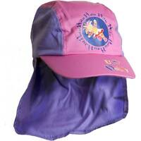 Girs In The Night Garden Upsy Daisy Legionnaires Sun Hat Peak Cap Pink 1-3yrs