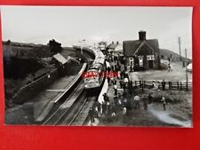 PHOTO  CLASS 40 DIESEL ON THE YORKSHIRE TAILSMAN AT DENT RAILWAY STATION