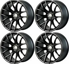 "19"" Miro Type 111 Wheels For Camry Acura TL 2004 - 2007 19X8.5"" Black Rims Set"