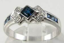 Engagement Natural Sapphire Fine Rings