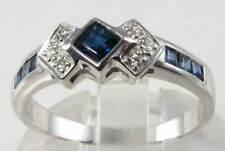 Sapphire Engagement Natural Not Enhanced Fine Gemstone Rings