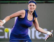Autographed Petra Kvitova Tennis 8x10 Photo #5