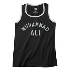 Muhammad Ali Men's Muscle Vest Boxing Training Logo Ringer Tank Top Champion