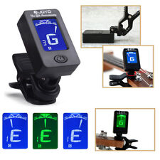Electric Digital Guitar Tuner LCD Clip-on Chromatic Acoustic Bass Violin Ukulele