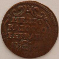 ITALIE ETATS PONTIFICAUX MEZZO BAIOCCO 1745 ?